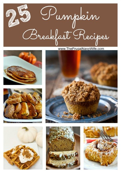 25 Easy Pumpkin Recipes for Breakfast