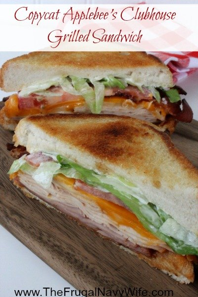 Clubhouse Grilled Sandwich