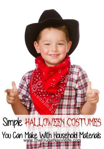 Simple Costumes You Can Make With Household Materials
