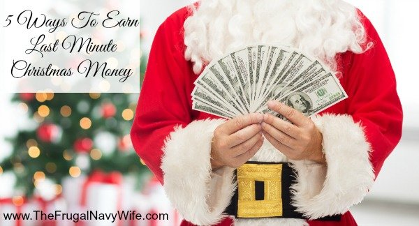 5 Ways To Earn Last Minute Christmas Money