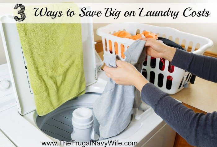 3 Ways to Save Big on Laundry Costs