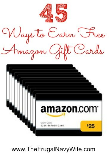 45 Ways to Earn Free Amazon Gift Cards