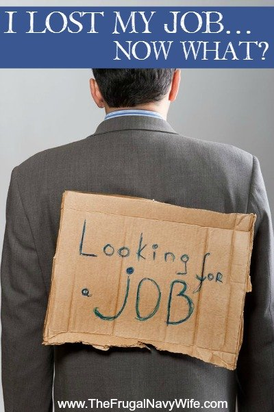I Lost My Job…Now What