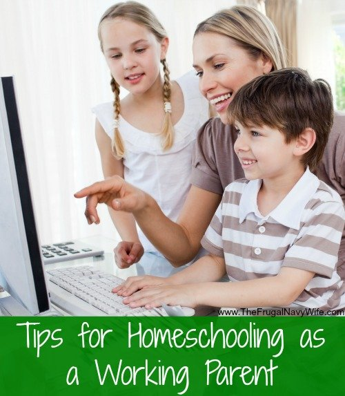 Tips for Homeschooling as a Working Parent