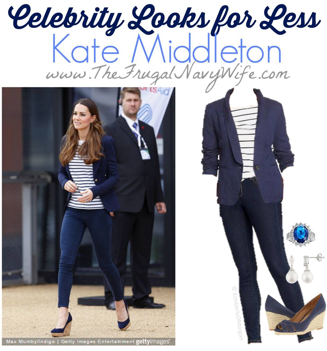 2.24 Navy Wife Celebrity Looks for Less Kate Middleton