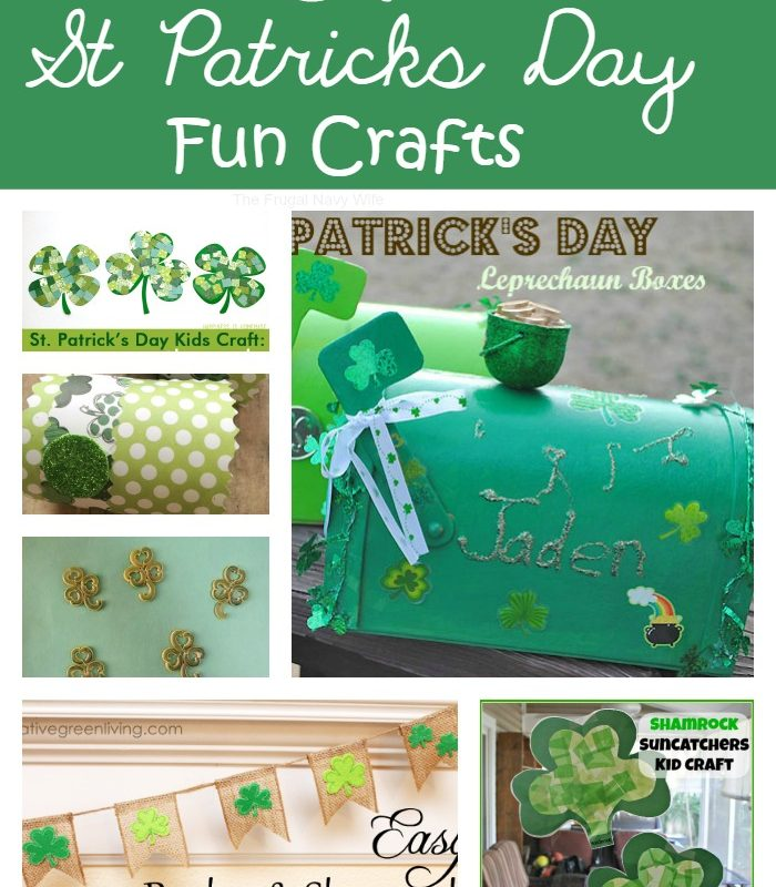 24 St Patricks Day Crafts