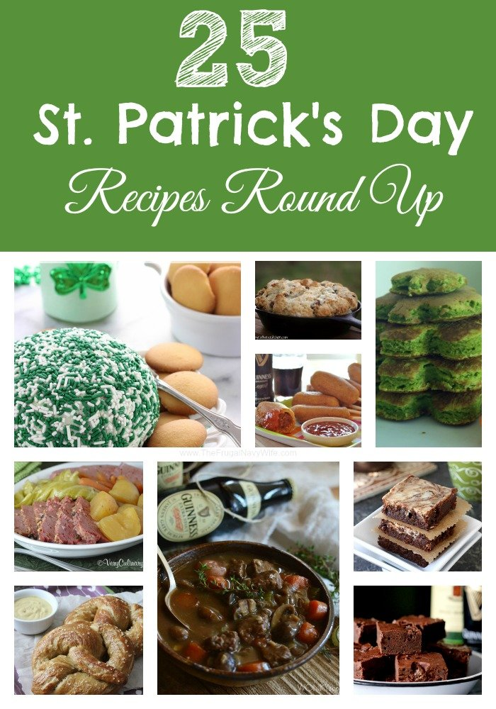 25 St. Patrick's Day Recipes Round Ups