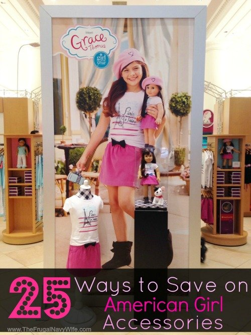 25 Ways to Save on American Girl Doll Accessories