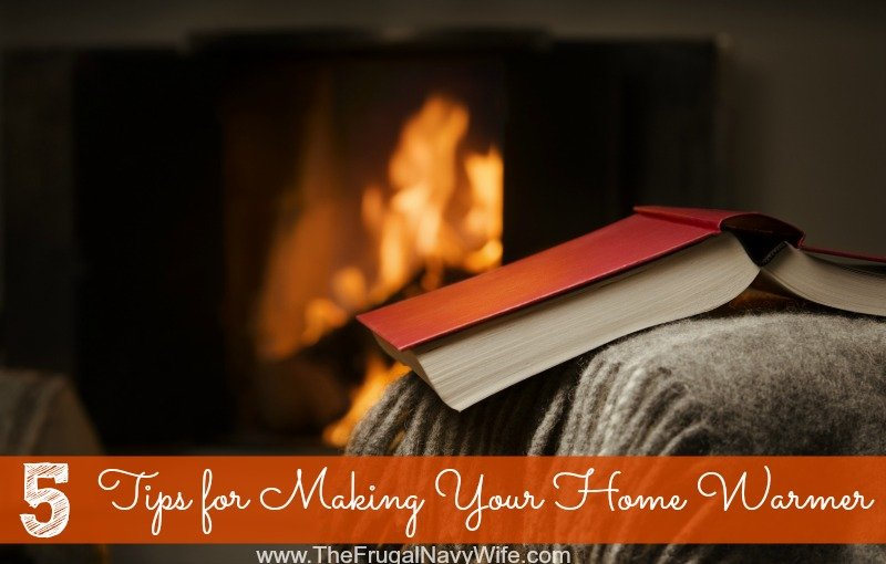 5 Tips for Making Your Home Warmer