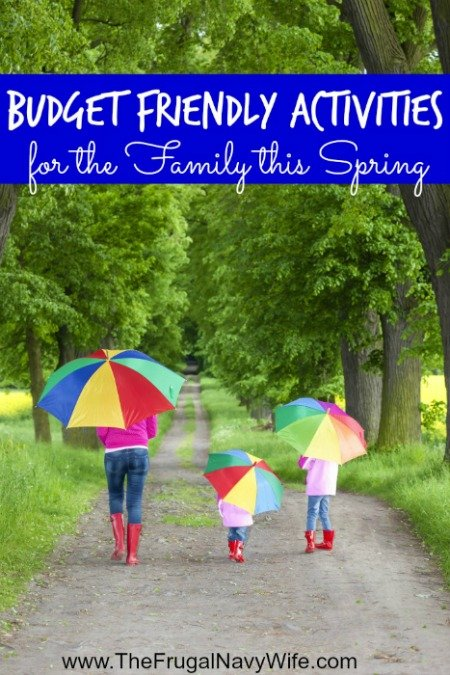 10 Budget Friendly Activities for the Family this Spring