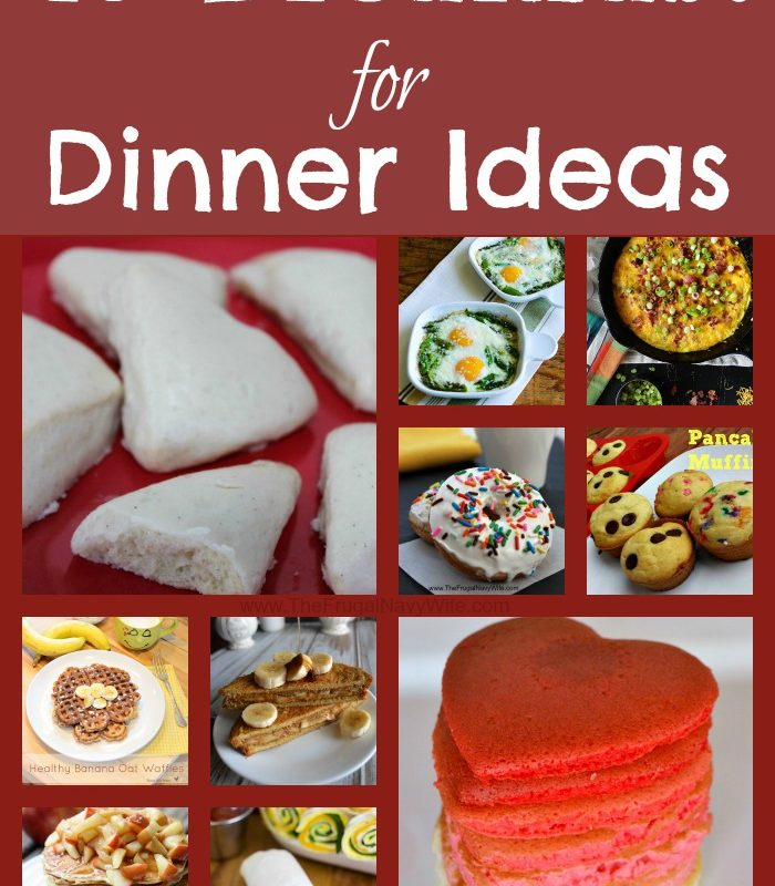 40 Breakfast for Dinner Ideas