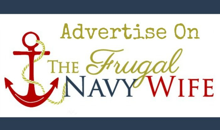 Advertise on The Frugal Navy Wife