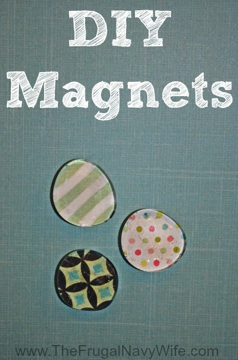 Make Your Own Fridge Magnets