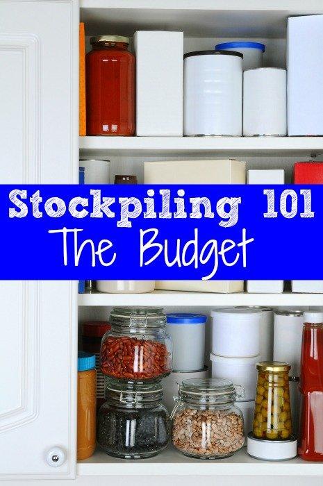 Stockpiling 101 – The Budget