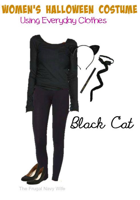 Black Cat Women's Halloween Costume