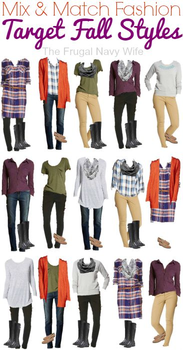 Mix and Match Clothing - Target Fall Styles