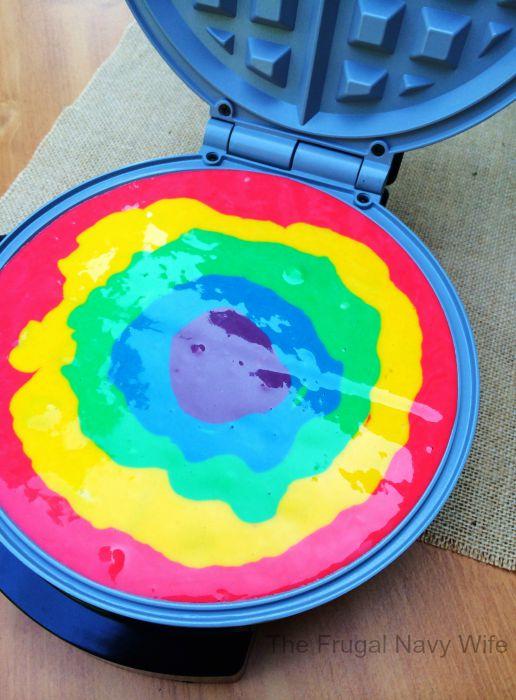 Rainbow Pancakes 4