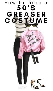 Women's 50's Greaser Halloween Costume – Made with Everyday Clothes!