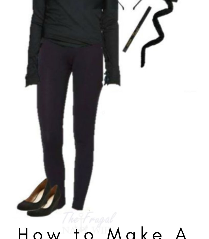 Womens Black Cat Halloween Costume – Using Everyday Clothes
