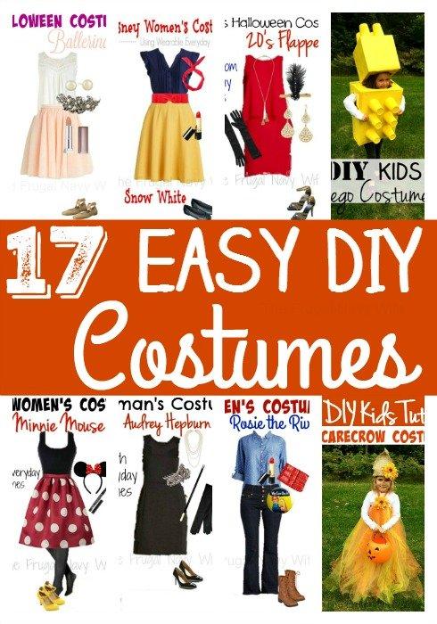 17 Easy DIy Costumes