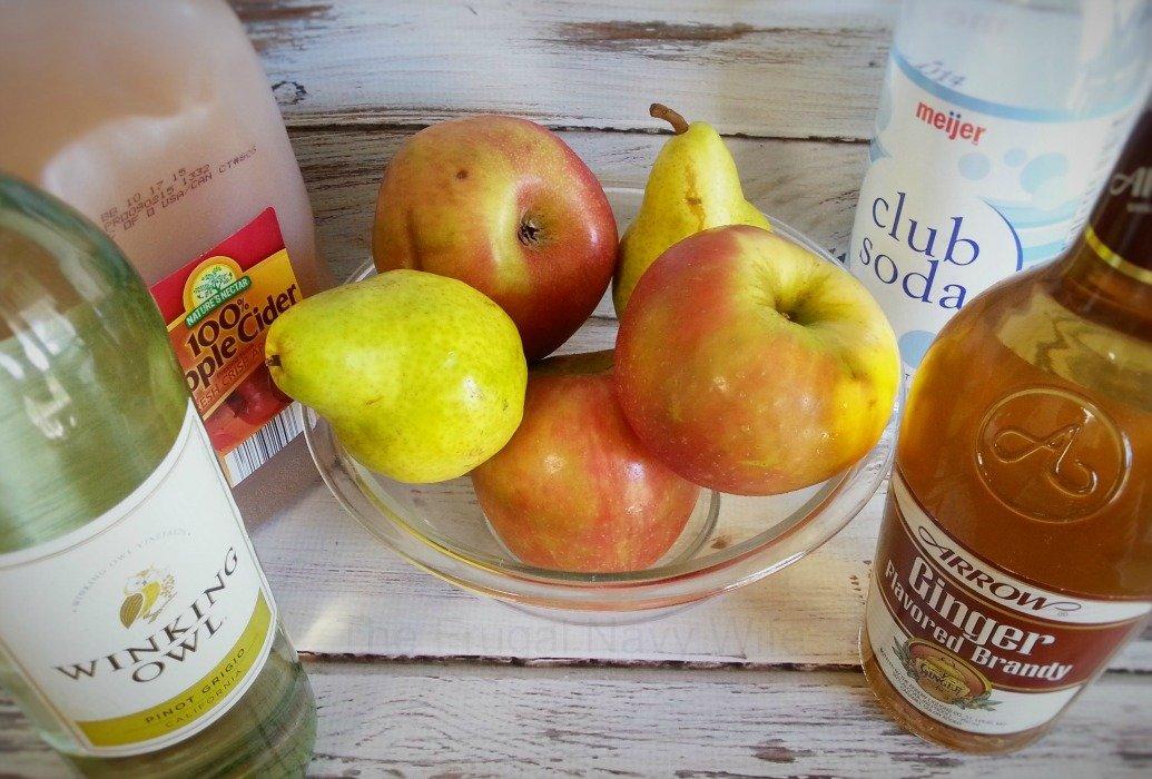 Apple Cider Sangria Ingredients