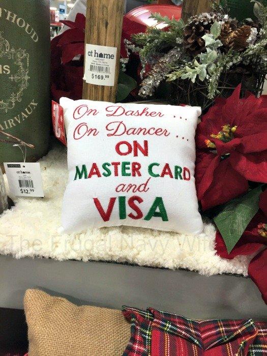 At Home Visa Pillow