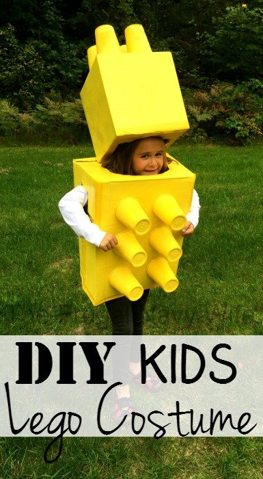 DIY Kids Lego Costume