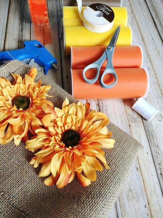 DIY Kids Tutu Scarecrow Costume Items