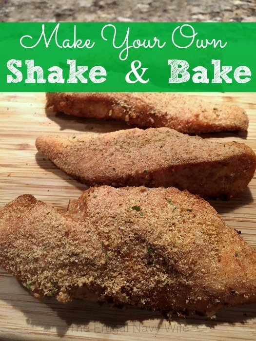 DIY Chicken Shake and Bake