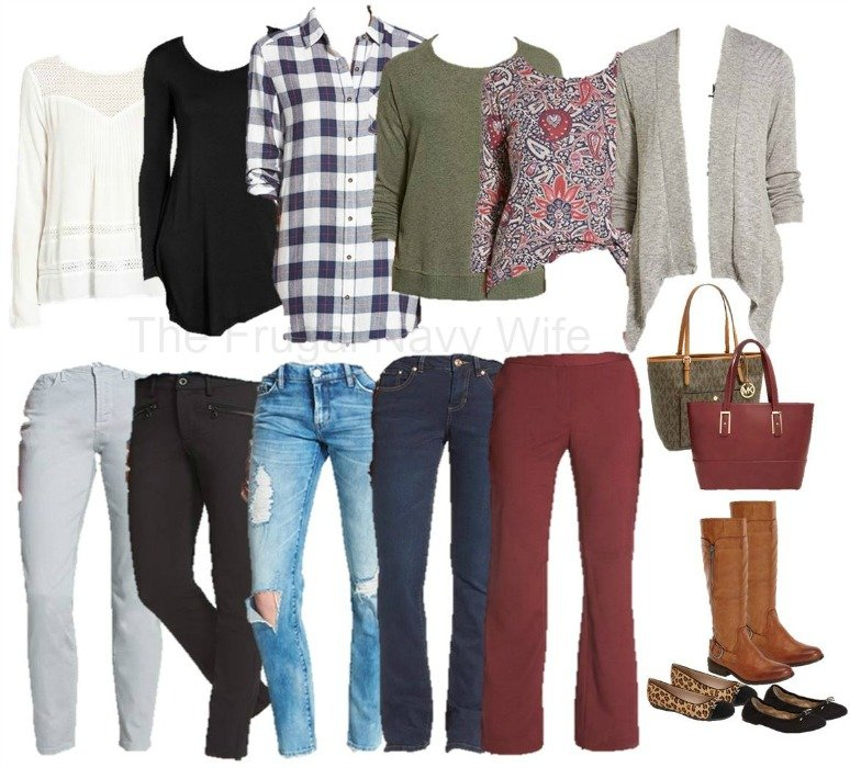 Mix and Match Nordstrom Fall Styles Clothing Items