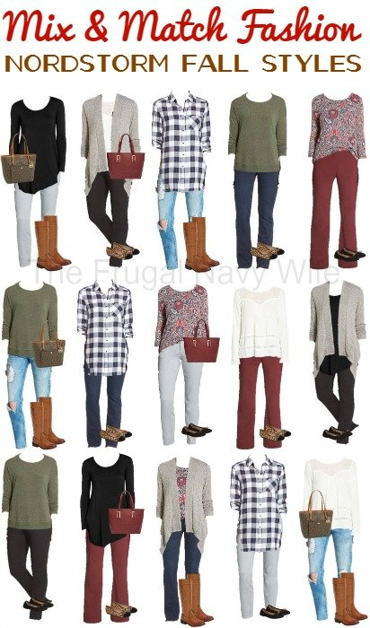 Mix and Match Nordstrom Fall Styles