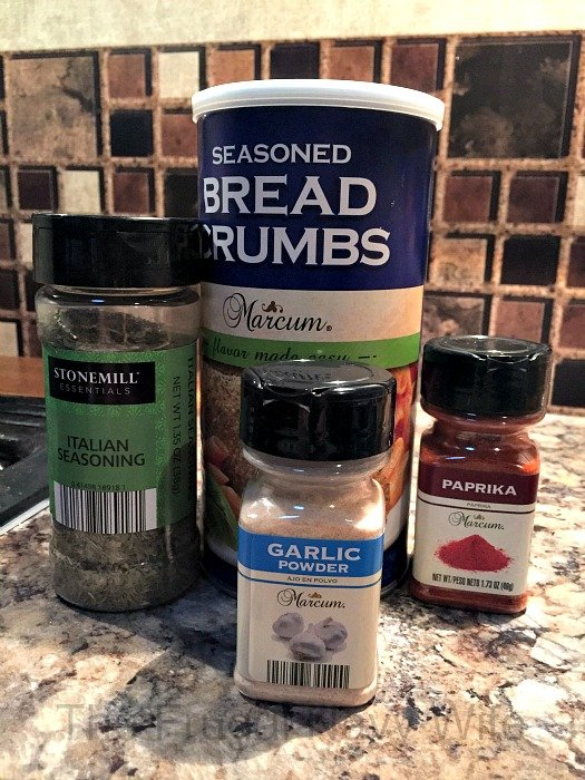 DIY Chicken Shake and Bake Ingrediants
