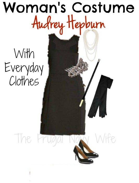 Woman's Audrey Hepburn Halloween Costume - From Everyday Clothes