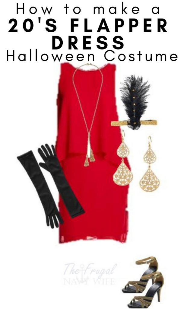 Check out this super easy and fun Women's Flapper Halloween Costume and step back into the 20's!! What a fun time it was with dresses and dancing! #halloween #adultcostume #frugalnavywife | Adult Halloween Costume | Halloween | Costumes for Adults | DIY Halloween Costumes