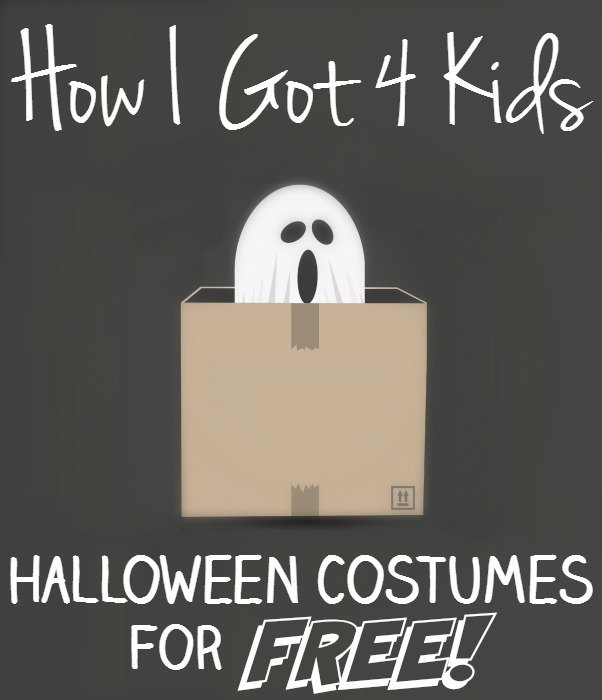 How I Got 4 Kids Halloween Costumes for FREE!