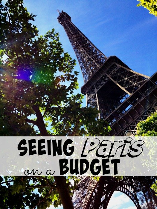 Seeing Paris on a Budget