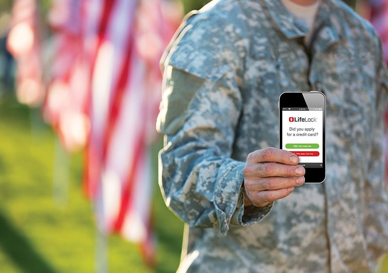 Peace of Mind for Military from LifeLock