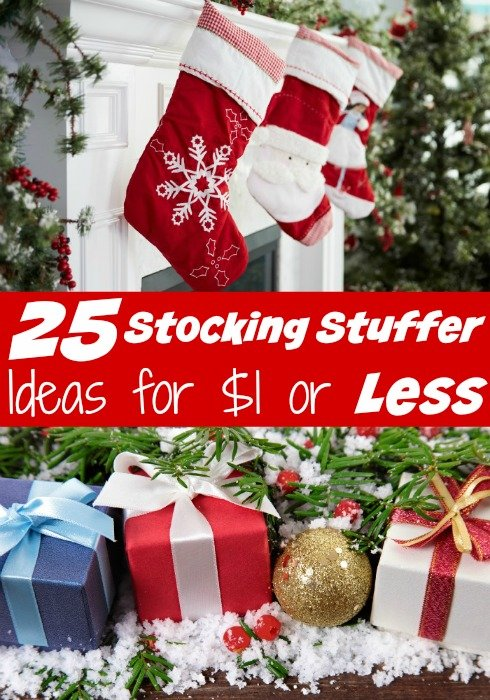 25 Stocking Stuffer Ideas for $1 or Less