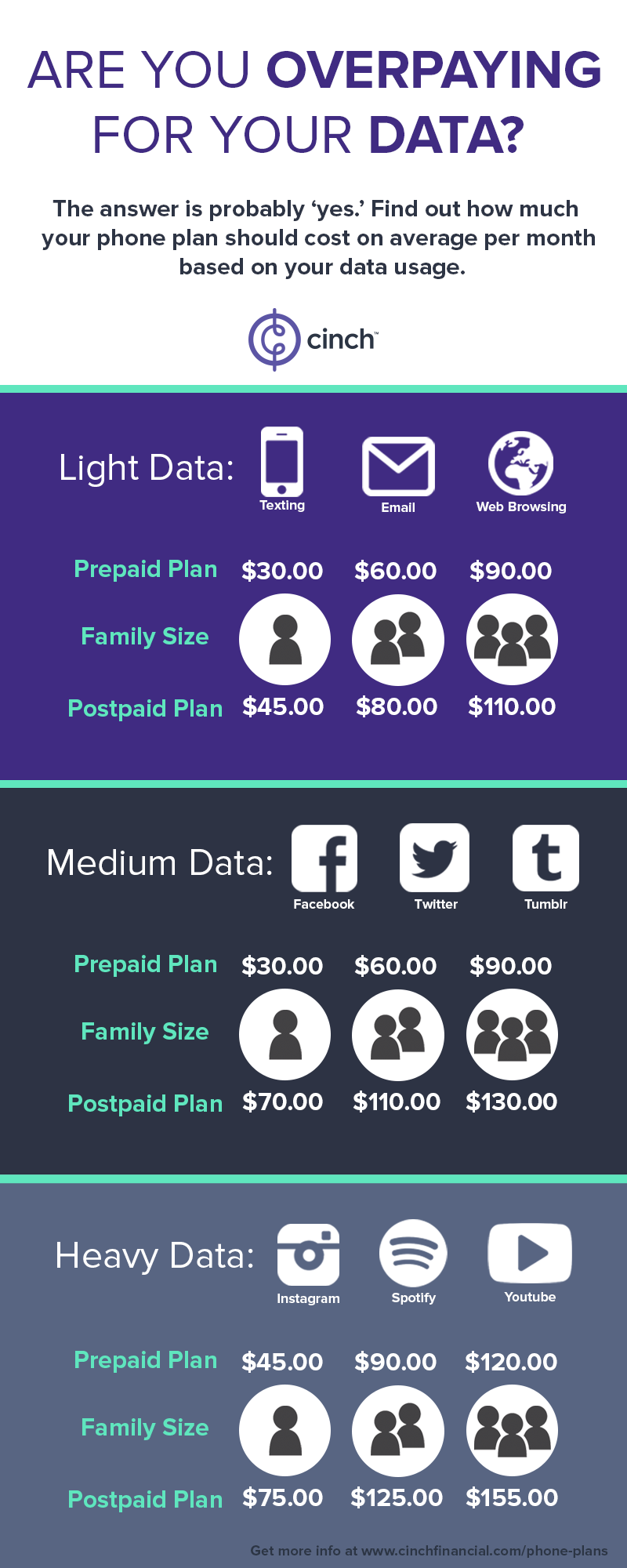 Data Cost Infographic