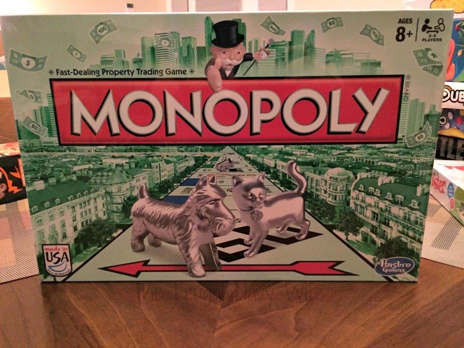 Hasbro Game Night Monopoly