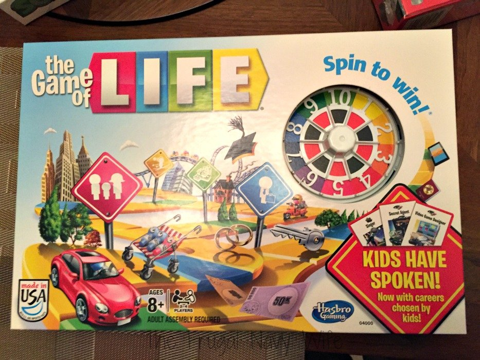 Hasbro Game Night The Game of Life