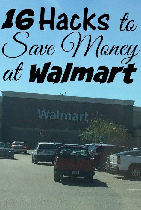 16 Hacks to Save Money at Walmart