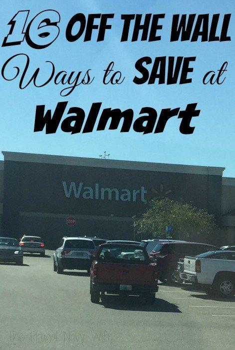 16 Ways to Save at Walmart