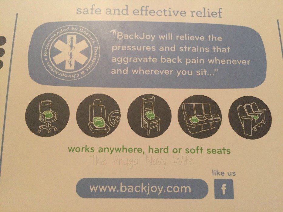 BackJoy Use Anywhere