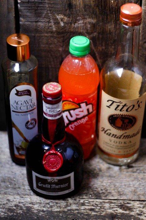 Neon Screwdriver Cocktail Ingredients