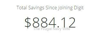 Total Saved from Digit
