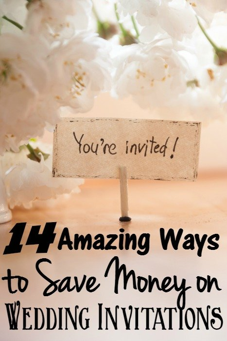 Cheap Wedding Invitations and 14 Ways to Save Money on Wedding Invitations