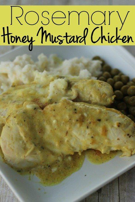 Rosemary Honey Mustard Chicken Recipe