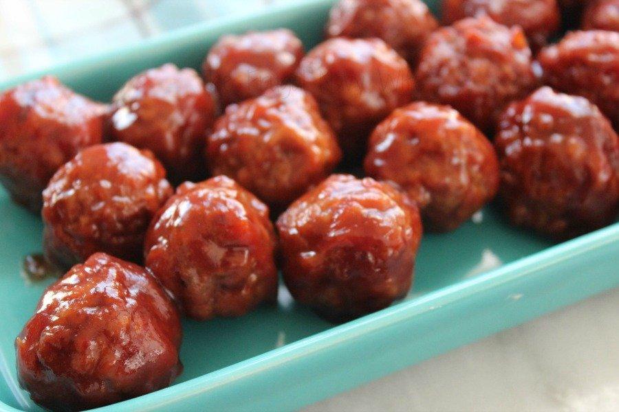 Easy Dinner Recipes - Slow Cooker Meatballs 2