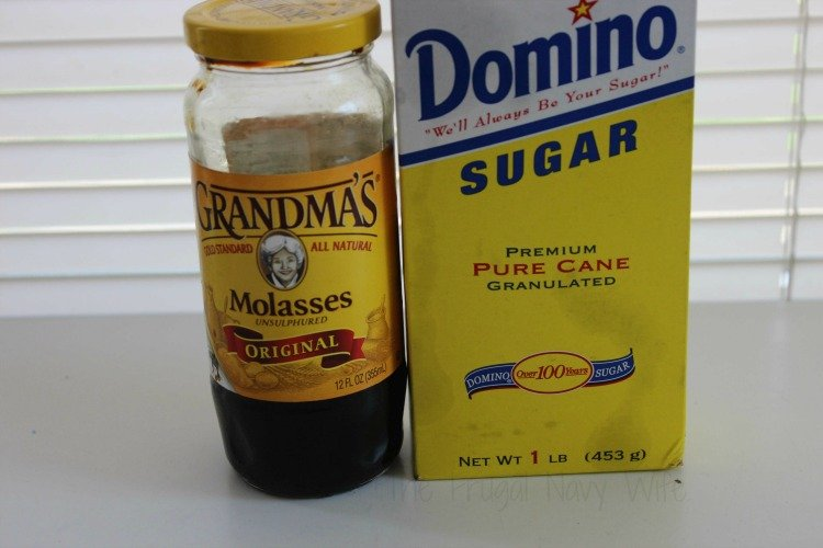 Homemade Brown Sugar Ingredients
